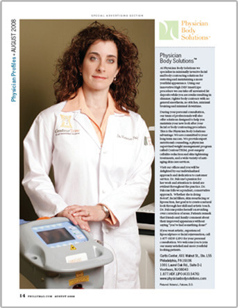 Dr. Victoria Falcone interviewed by Philadelphia Magazine